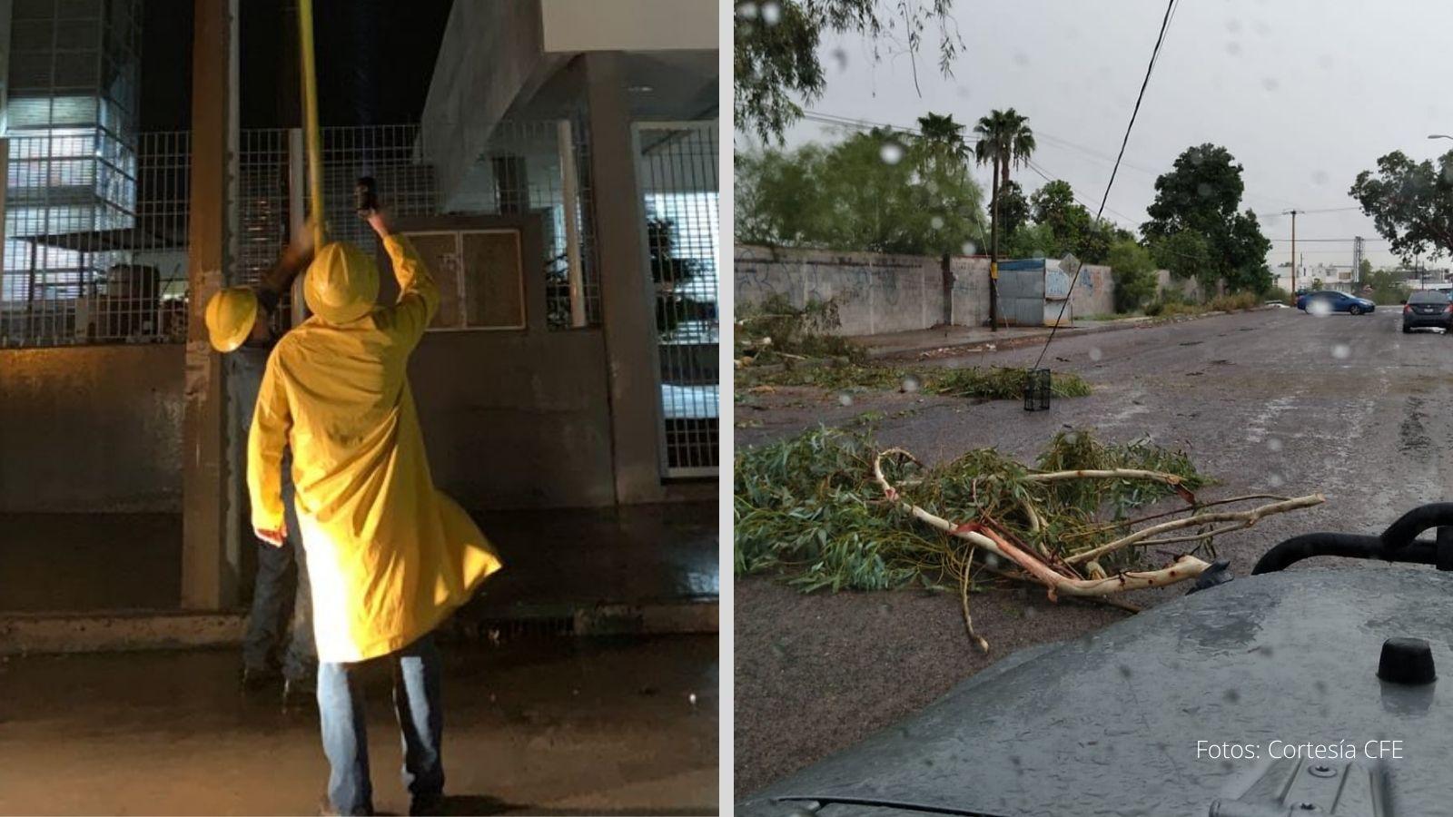 huracán Olaf baja california sur