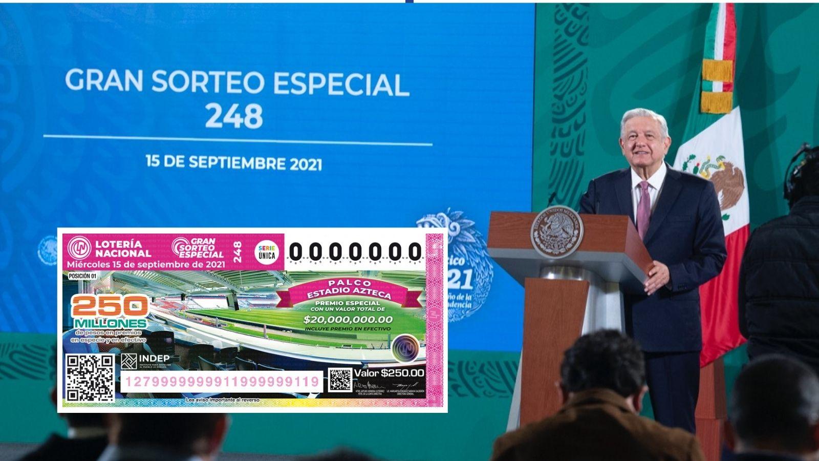 Lotería Nacional AMLO