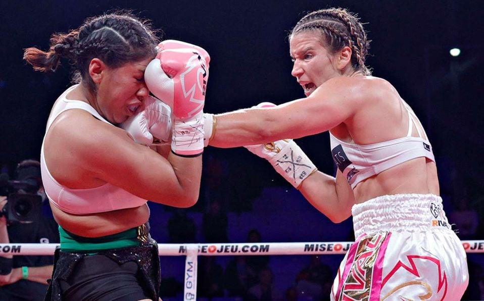 boxeadora Jeanette Zacarias Zapata