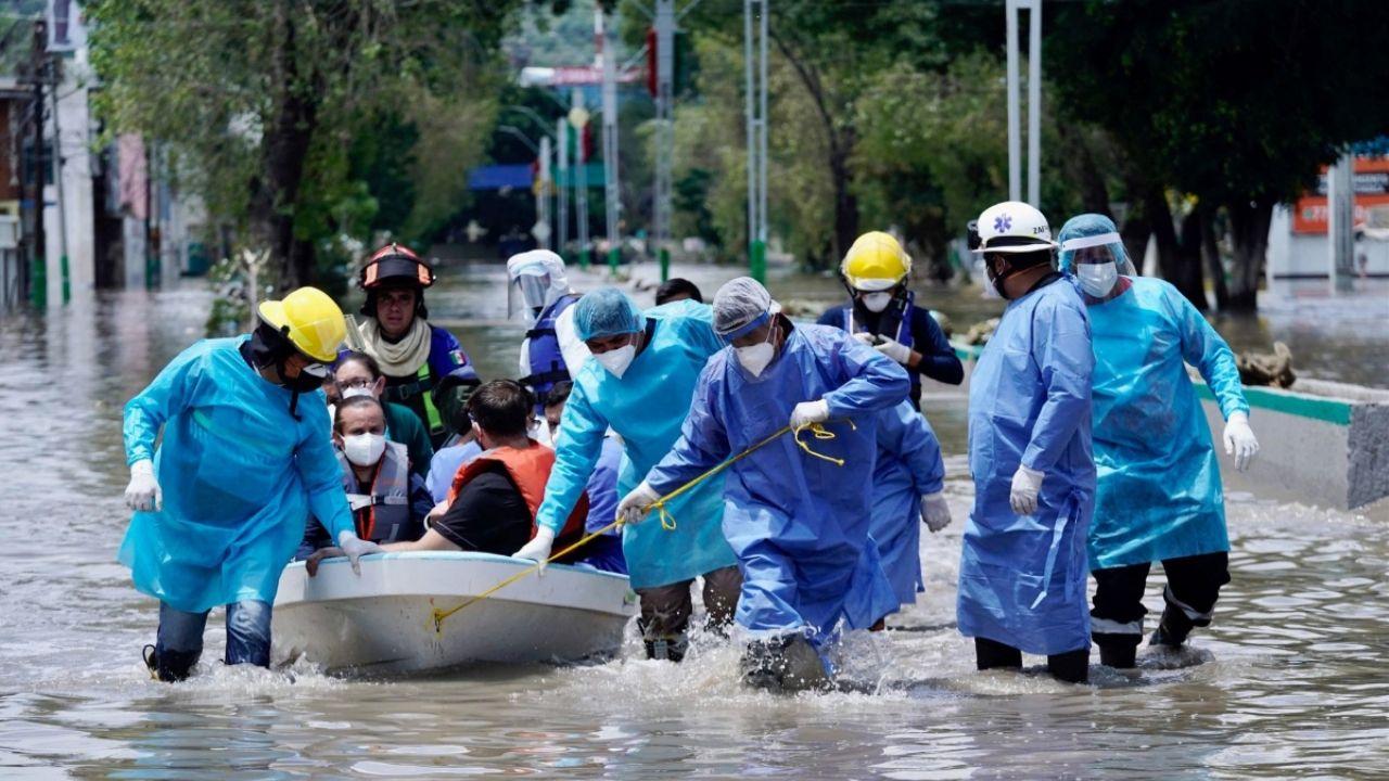 hospital del imss inundación tula