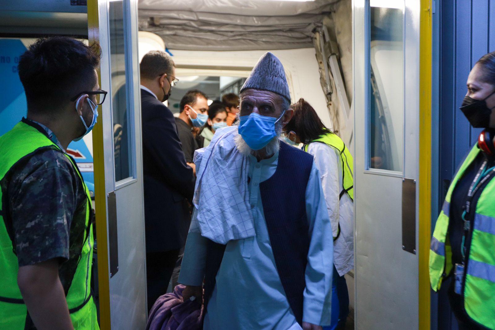 llega a México cuarto grupo de refugiados de Afganistán 2