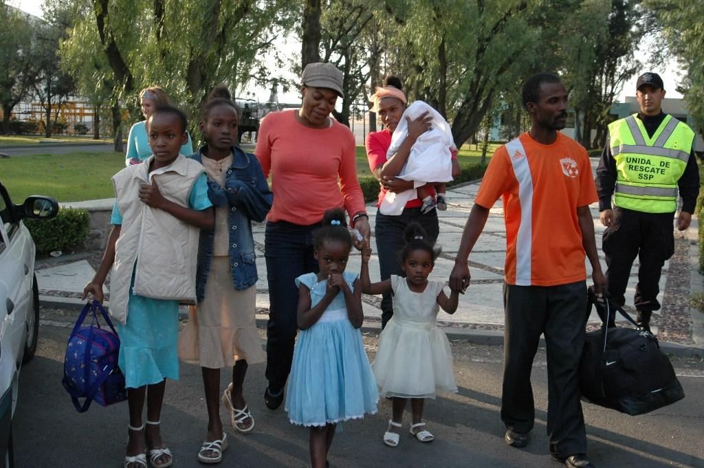 refugiados haitianos en México